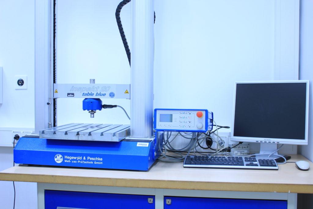Universalprüfmaschine Inspekt Table blue 20kN